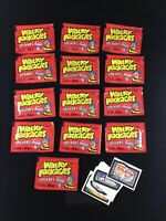 VINTAGE RARE ORIGINAL 1986 TOPPS WACKY PACKAGES LOT OF 12 DEALER TEST PACKAGES