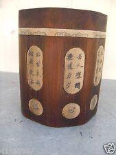 China Antique Bone in Bamboo Brush Pots