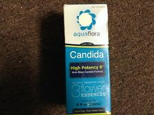 Candida High Potency 9 8 oz High potency aqua flora 3 flower essences exp 03/16