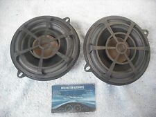 2 X GENUINE RENAULT SCENIC 2 & MEGANE 2  & LAGUNA REAR DOOR SPEAKERS PAIR