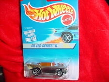 HOT WHEELS #422 '57 CHEVY WITH 5 SPOKE RIMS SILVER SERIES II FREE USA SHIPPING