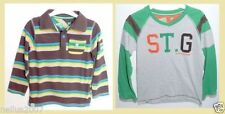 George Striped 100% Cotton Long Sleeve Boys' T-Shirts & Tops (2-16 Years)