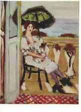 Postcard! H. Matisse - Lady with the parasol