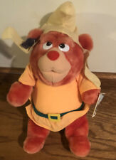VTG W/ Tags Applause 10 inch Disney Gummi Bears Gruffi Gummi Plush Bear