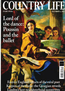 COUNTRY LIFE MAGAZINE 6th OCTOBER 2021 ~ NEW ~