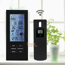 Blue LED Wireless Weather Station&Sensor Home Temperature Humidity Barometer RCC