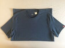 Levi's Navy Blue men's Crew Neck T-Shirt   -   100% Organic Cotton
