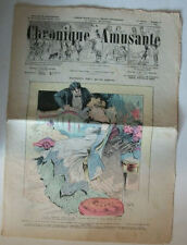 JOURNAL ILLUSTRE INTERNATIONAL « CHRONIQUE AMUSANTE » JUILLET 1902