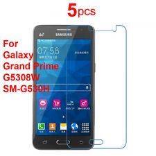 5X Screen Protector Guard Cover Film for Samsung Galaxy Grand Prime G530H G5308W