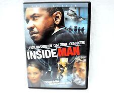 Inside Man Dvd - Full Screen