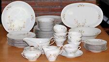 Vintage Winterling Porcelain China Apple Blossom Bavaria Germany Serving for 8