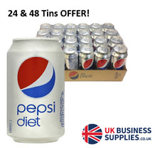 Diet Pepsi 24 & 48 x 330ml Cans Offer!
