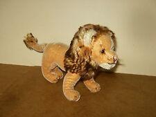 """RARE ancien / vintage - SQUEAKER ? STEIFF LEO LION ? - 30cm / 11.8"""" - 60's"""