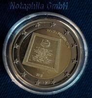 """Malta 2 Euro 2015 Gedenkmünze (Sonderm.)  mit Münzzeichen """"Republik Malta 1974"""""""