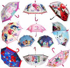 Kids Character Umbrella Dome Bubble Disney Marvel TV & Film Boys & Girls School