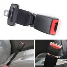 Universal 9'' Car Seat Seatbelt Safety Belt Adjustable Extender Extension Buckle