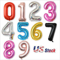 """40""""Numbers 16""""Air-Filled """"HAPPY BIRTHDAY"""" Party Letter Foil Balloon Banners"""