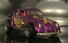 Hotwheels VW Volkswagen Beetle Malaysia Purple 1988 Original Diecast toy car