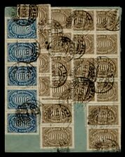 DR WHO 1923 GERMANY DUSSELDORF STRIP  g41576