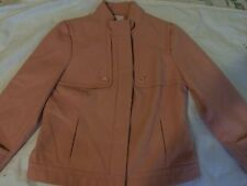 EUC CHICOS pink-light peach winter blazer ,jacket Sz.1
