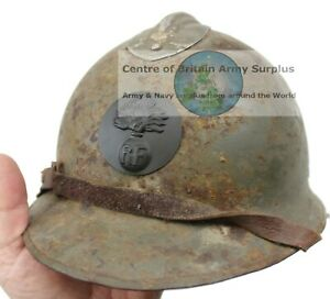 WW2 FRENCH ARMY BADGE for ADRIAN HELMET REPRODUCTION