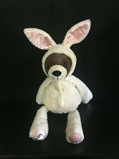 """Scentsy Buddy 16"""" Brown Bear Plush in Bunny Rabbit Costume with Scent Pack  EUC"""