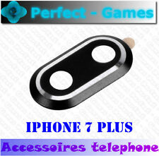 iPhone 7 plus vitre cache protection camera lens protector aluminium noir black