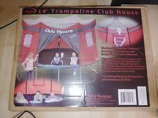 PROPEL TRAMPOLINES Trampoline Club House Zippered Tent Confirmed Order.