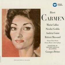 CALLAS/GEDDA/MASSARD/PRÊTRE/OOP - CARMEN 1964 (REMASTERED 2014) 2 CD NEW+
