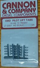 Cannon & Company HO #2051 EMD Pilot Lift Tabs for: 35 Line To Present