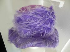 Purple Furry Bucket Hat