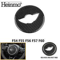 Carbon Fiber Car Steering Wheel Cover Trim For MINI Cooper F54 F55 F56 F57 F60