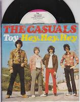 """THE CASUALS - Toy - Rare 1968 German 2-track 7"""" vinyl single in picture sleeve!"""