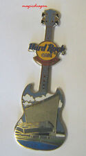 Hard Rock Cafe MANCHESTER War Musuem Guitar Series Pin.