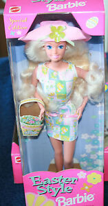 BARBIE SPECIAL EDITION EASTER STYLE FROM THE MATTEL COLLECTION 1997 NIB