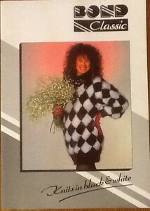 Bond Classic Knits in Black & White Ultimate Sweater Incredible Sweater Pattern