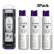 EDR1RXD1 Whirlpool Every Drop Refrigerator Water Filter 1 W10295370A - 3 Pack