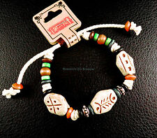 bracelet, coleography, multicolored, handmade Wood and resin artisan