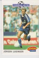 Panini Fussball 92-93 Action Cards #200 Jurgen Luginger FC Schalke 04