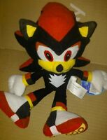 "Shadow Sonic X The Hedgehog  Stuffed Animal  Toy Network New 10"" inch Plush"