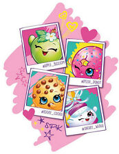 SHOPKINS wall sticker MURAL 1 big decal POSTER Apple Blossom D'Lish Donut Cookie
