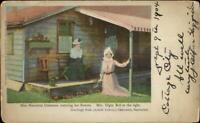 Siasconset Nantucket MA Miss Henrietta Crossman c1900 Postcard