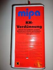 8,38€/ltr. Mipa KH-Verdünnung 5 ltr. Kunstharzverdünnung