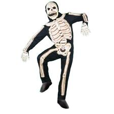 Deluxe 3-D Skeleton Child Costume Medium