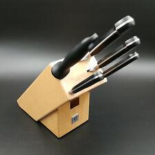 Zwilling Professional s Messerblock 6 Tlg.buchenholzblock Kochmesser