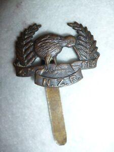 New Zealand - 4th (Otago Rifles) Regiment Cap Badge (size of Collar Badge)