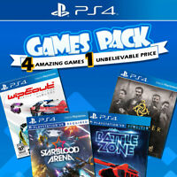 PS4 Games Bundle Sony Playstation 4 Game NEW Battlezone Starblood Wipeout Order