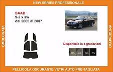 pellicola oscurante vetri pre tagliata Saab 9-2x sw dal 2005-2007 kit posteriore