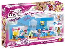 Cobi blocks WINX Club 25254  Aisha's Fitness Club 250 building bricks Toy  dolls
