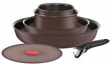 TEFAL Batterie de cuisine Induction 6 pièces INGENIO CHEF Aluminium